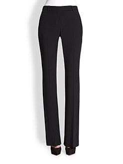 Alexander McQueen - Bootcut Crepe Trousers
