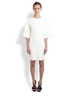 Alexander McQueen - Crocodile-Embossed Shift Dress