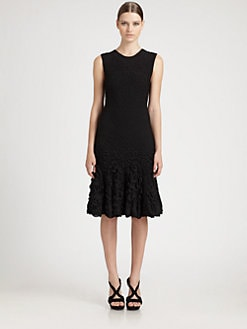 Alexander McQueen - Puckered Circle Dress