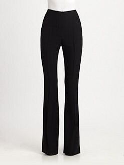 Alexander McQueen - High-Waisted Crepe Pants