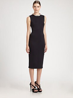 Alexander McQueen - Neoprene Necklace Dress