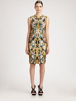 Alexander McQueen - Dragonfly Jersey Dress