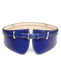 Alexander McQueen - Leather Corset Belt
