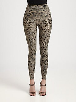 Alexander McQueen - Lace Print Leggings