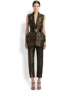 Alexander McQueen - Honeycomb Lace Vest