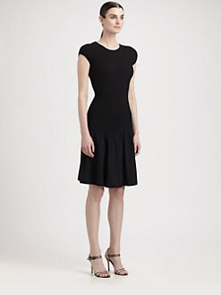 Alexander McQueen - Smock Stitch Circle Dress