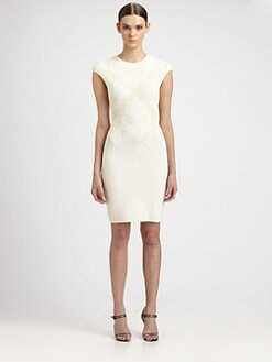 Alexander McQueen - Honeycomb Mini Dress