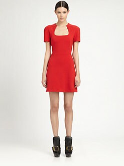Alexander McQueen - Wool Jersey Dress