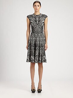 Alexander McQueen - Glory Jacquard Knit Dress