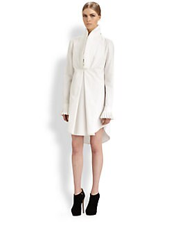 Alexander McQueen - Cotton Piquet Tunic Dress