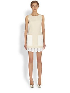 Alexander McQueen - Contrast Pocket Dress