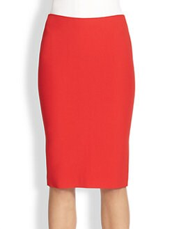 Alexander McQueen - High-Waisted Pencil Skirt