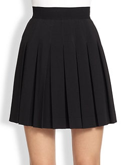 Alexander McQueen - Pleated Mini Skirt