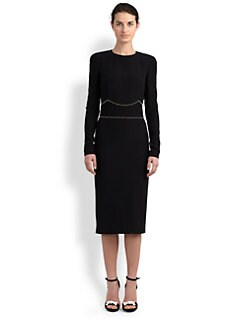 Alexander McQueen - Bead-Detailed Knit Dress