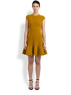 Alexander McQueen - Knit Chenille Dress