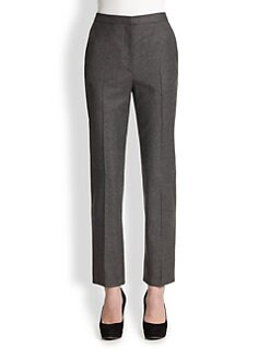 Alexander McQueen - Vented Flannel Trousers
