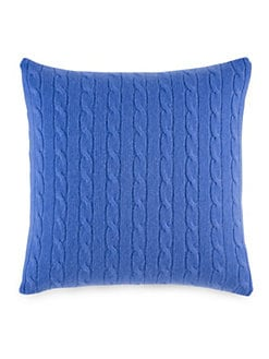 Ralph Lauren - Cashmere Cable-Knit Pillow