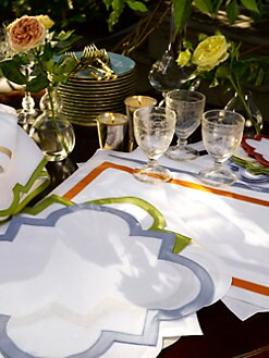 Matouk - Mirasol Cocktail Napkins, Set of 6