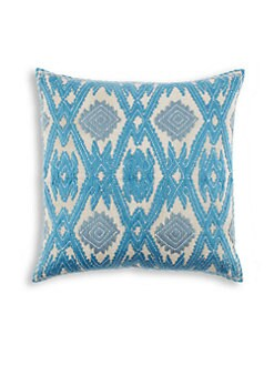 John Robshaw - Tarin Embroidered Decorative Pillow
