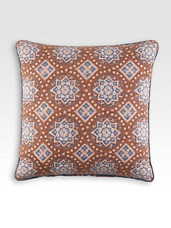 John Robshaw - Maansi Walnut Decorative Pillow