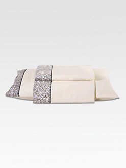 Frette - Perle Border Print Sheet Set