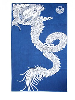 Natori - Dragon Jacquard Beach Towel