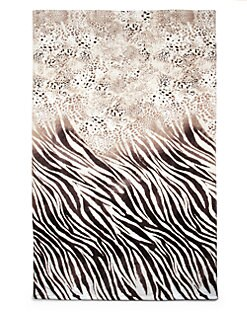 Natori - Safari Sheared-Print Beach Towel