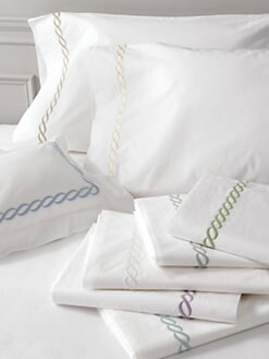 Matouk - Classic Chain Pillowcase
