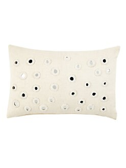John Robshaw - Ivory Kidney Pillow