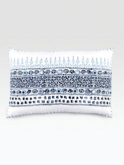 John Robshaw - Primrose Indigo Decorative Pillow
