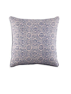 John Robshaw - Mandu Lapis Decorative Pillow