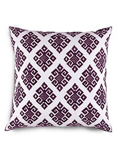 John Robshaw - Gujar Brinjal Decorative Pillow