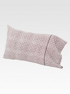 John Robshaw - Nava Brinjal Embroidered Pillowcase/Set of 2