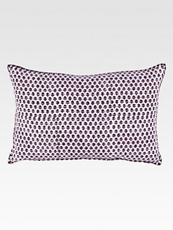 John Robshaw - Bindi Brinjal Decorative Pillow