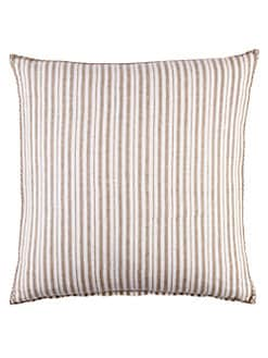 John Robshaw - Gent's Stripe Decorative Pillow