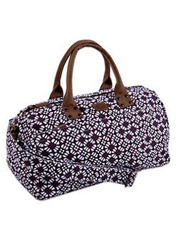 John Robshaw - Floral Print Duffel Bag