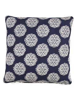 John Robshaw - Mosaic Medallion Decorative Pillow