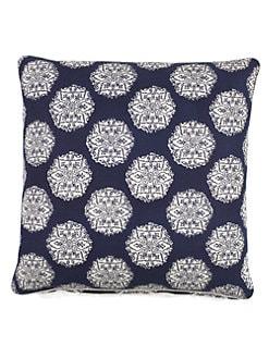 John Robshaw - Mosaic Medallion Decorative Pillow
