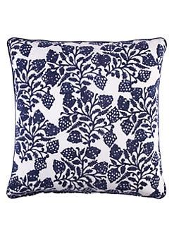 John Robshaw - Mosaic Berry Decorative Pillow