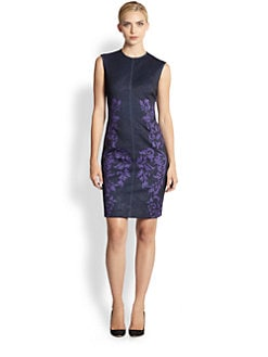 Yigal Azrouel - Brocade Scuba Dress