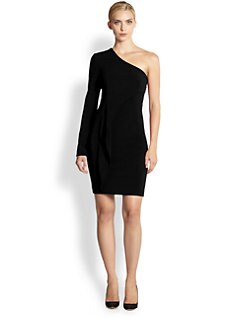 Yigal Azrouel - Bi-Stretch Tech One-Shoulder Dress