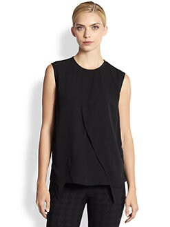 Yigal Azrouel - Silk Crepe Georgette Top