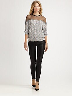 Yigal Azrouel - Knit Bouclé Top