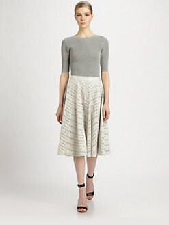 Yigal Azrouel - Open Waffle Knit Top