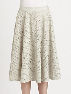 Yigal Azrouel - Pinwheel Eyelet Skirt