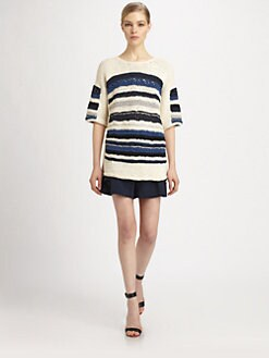 Yigal Azrouel - Chunky Striped Knit Top
