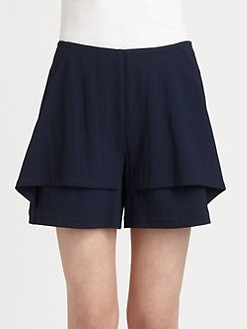 Yigal Azrouel - Tech Crepe Shorts