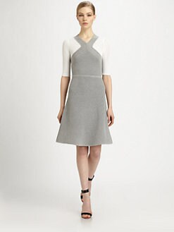 Yigal Azrouel - Open Waffle Knit Dress