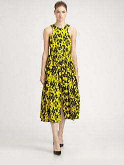 Yigal Azrouel - Printed Silk Dress