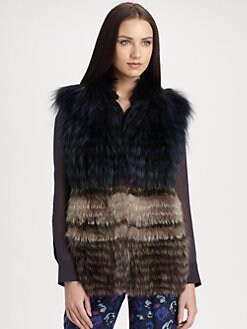 Yigal Azrouel - Fox Fur Vest